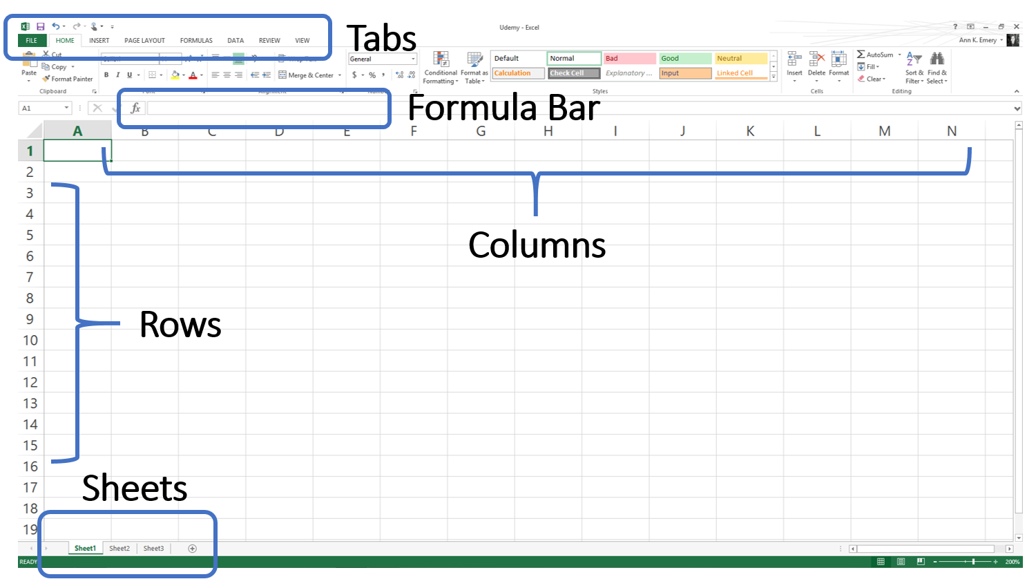 The Absolute Beginner's Guide to Spreadsheets | Depict Data ...