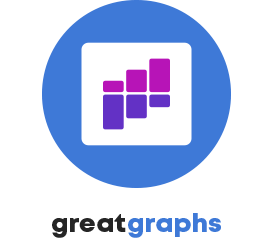Depict Data Studio's Great Graphs course logo.