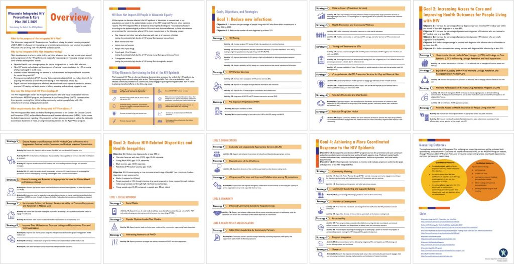Small screenshots of the 10-page report.