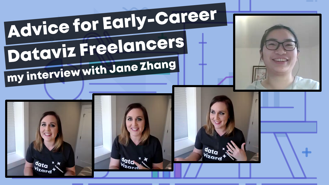 Ann K. Emery shares advice for early-career dataviz freelancers.