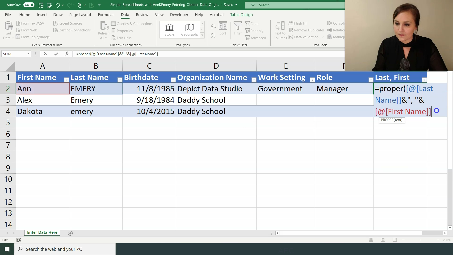 Step 6. Add Formulas for Recoding Data