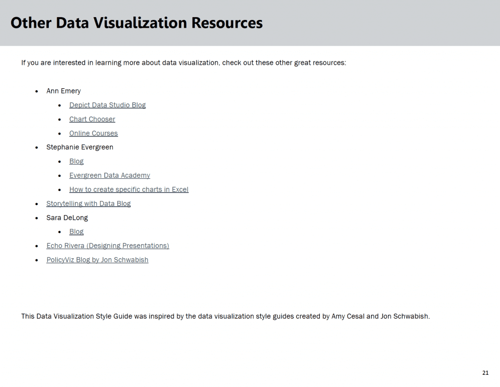List of data visualization resources