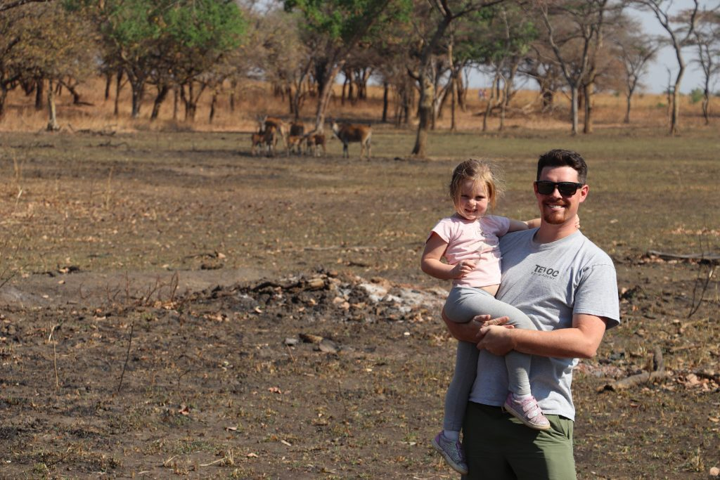 We celebrated my husband's birthday in Zambia while I was there teaching data visualization.
