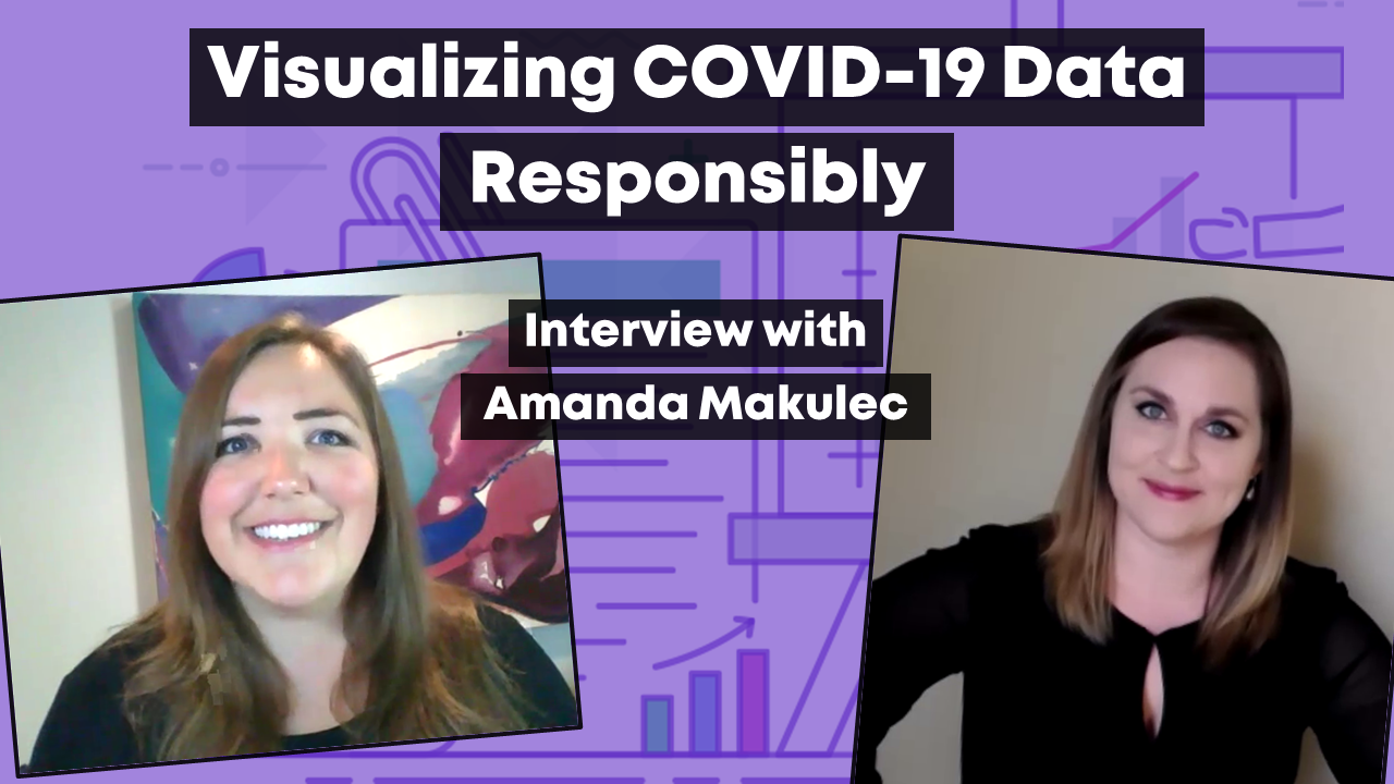 Visualization COVID-19 Data Responsibly with Amanda Makulec.