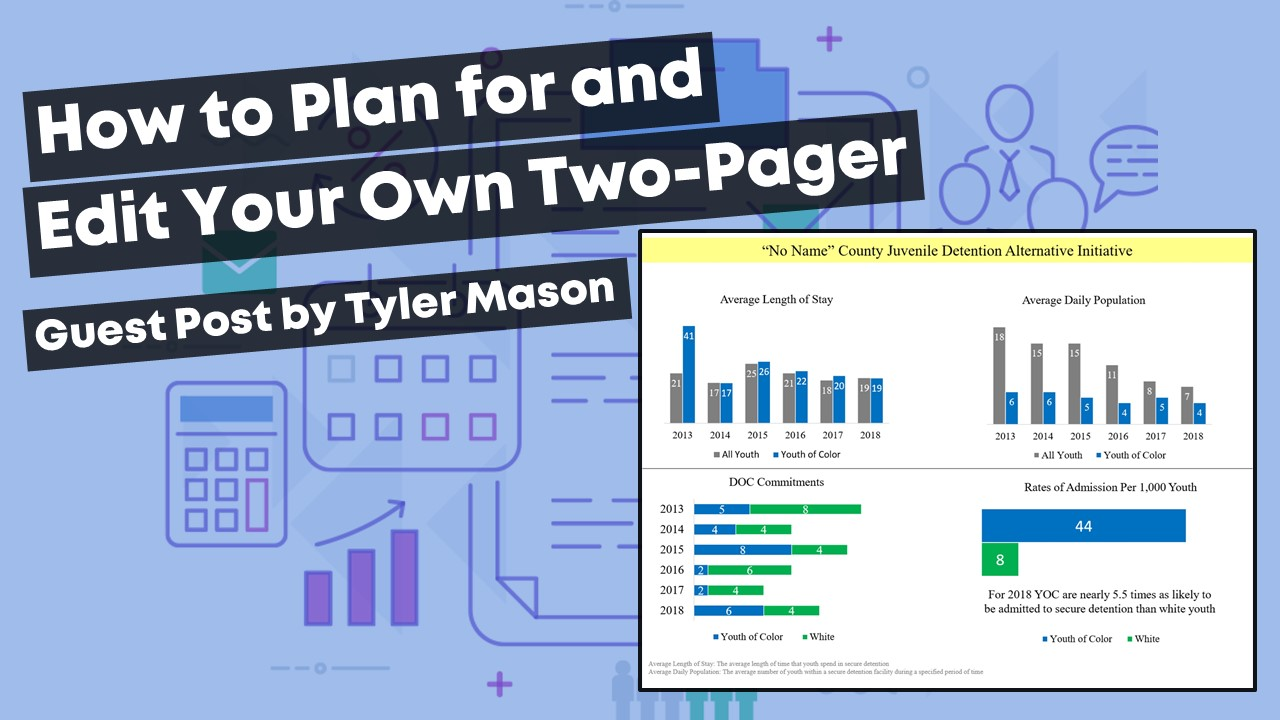 Guest blogger Tyler Mason shares how to plan for and edit your own two-pager.