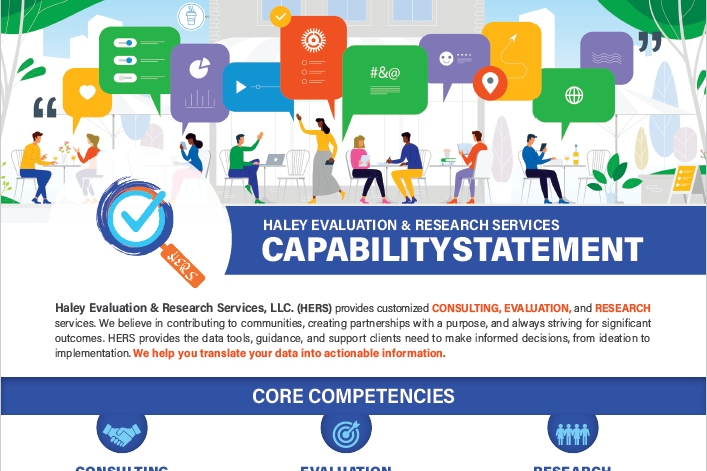 Lillian Haley used skills learned in Depict Data Studio courses to transform her company's capability statement.